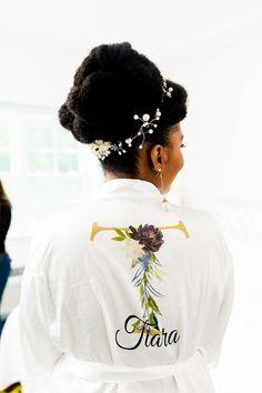 Intimate Garden Themed Wedding at Bailey Arboretum The Wedding Singer, Our Wedding, Bride Tiara, Wedding Locations, Garden Wedding, Mother Of The Bride, Wedding Styles, Bridal Gowns, Natural Hair Styles