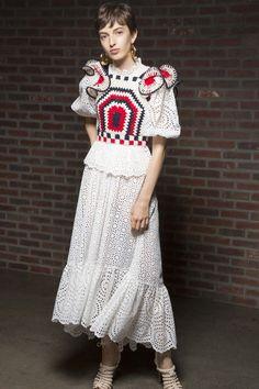 Ulla Johnson at New York Fashion Week Spring 2019 - Backstage Runway Photos