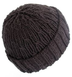 This hat can be finished in a weekend while you're catching up on your latest TV obsession. The cabling pattern is super easy, but looks really cool when it's finished.