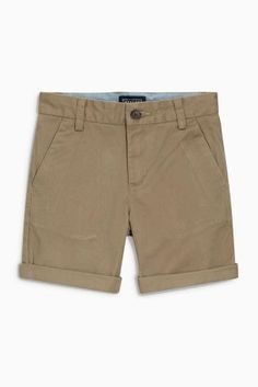 Summer holiday evenings mean chino shorts are a MUST for the little ones!