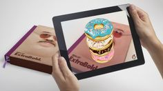 """THIS IS AUGMENTED REALITY. by Serial Cut™. Real footage showing how the augmented reality works with the """"ExtraBold."""" book"""