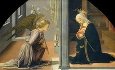 Fra Filippo Lippi, The Annunciation, 1435-40, National Gallery of Art, Washington D.C.