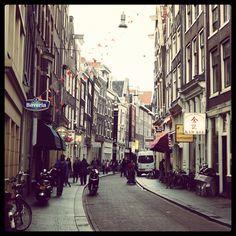 Amsterdam, behind the scene