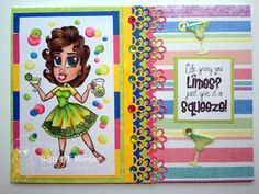 Simply Betty Stamps Rita Limes