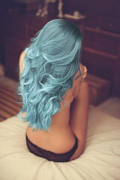 @Tracey Fox Burnap we're doing this to my hair when I'm done working in this dang office!