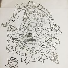 Get to start this fun Steven universe thigh piece tomorrow sooo stoked #tattoo…