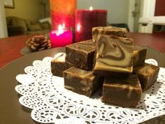 Friday Feature: Chocolate Peanut Butter Fudge - Trim Healthy Mama Canada | Healthy Family Foods