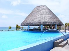 Cancun Mexico...moon palace, the lap pool, love it!