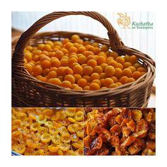 Kuchařka ze Svatojánu: SUŠENÉ MIRABELKY Beans, Vegetables, Food, Meal, Beans Recipes, Essen, Vegetable Recipes, Hoods, Prayers