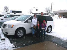 Joseph and Katrina's new 2010 Chrysler Town & Country!