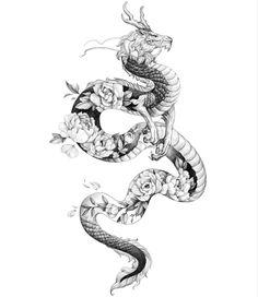 Simplistic Tattoos, Unique Tattoos, Cute Tattoos, Body Art Tattoos, Small Tattoos, Tatoos, Arabic Tattoos, Dragon Tattoo Drawing, Dragon Sleeve Tattoos