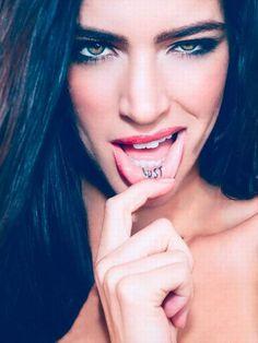 Αποτέλεσμα εικόνας για inner lip tattoo ideas