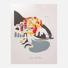 Cinque Terre Ltd Release 11x14  by Kim Sly