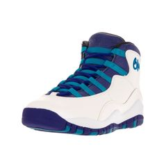 c0c8d010d2f Nike Jordan Kids Air Jordan 10 Retro Bg  Concord Blue Lagoon Black  Basketball Shoe