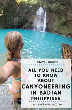 Badian Canyoneering at Kawasan Falls, Cebu, Philippines | Where's Mollie? A Travel and Adventure Lifestyle Blog-44