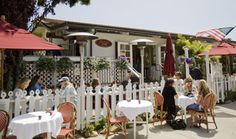 Jeannine's in Montecito - my favorite place for breakfast & lunch and hanging with local friends (back in the day)