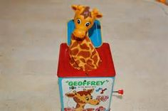 Vintage Toys R Us Mattel Geoffrey Giraffe Jack In The 70s Toys, Retro Toys, Toys R Us Giraffe, Toys R Us Geoffrey, Best Educational Toys, Back In My Day, Jack In The Box, Mattel Dolls, Oldies But Goodies