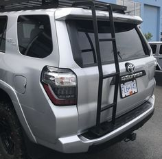 Roof Top Carrier, 4x4, Toyota 4runner Trd, All Stainless Steel, Roof Rack, Rear Window, Offroad, Ladder, Dream Cars