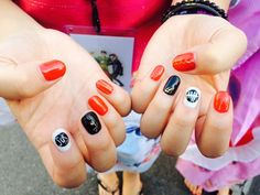 derp con a 5 seconds of summer convention photo Summer Acrylic Nails, Pastel Nails, Summer Nails, 5sos Nails, Fun Nails, 5 Seconds Of Summer, One Direction Nails, Image Nails, Nail Decals