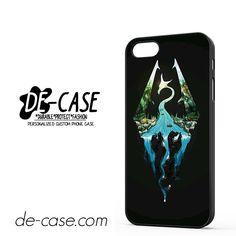 Skyrim Logo In Nature DEAL-9665 Apple Phonecase Cover For Iphone SE Case