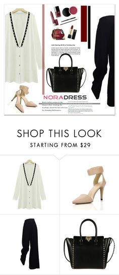 """NoraDress 25"" by amra-mak ❤ liked on Polyvore featuring moda, Valentino y noradress"