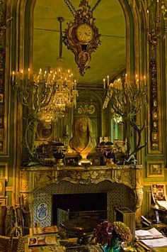 Hubert & Isabelle d'Ornano flat in Paris,