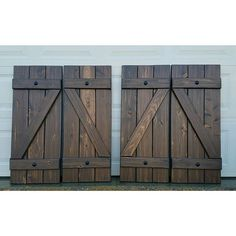 """Wood shutters """"Z"""" style shutters off to Florida! ❤"""