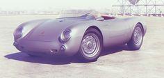 Porsche 550 Spyder by additive studios , via Behance