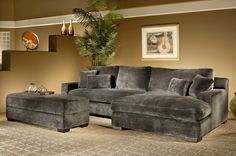Grand Island Oversized Cocktail Ottoman For Sectional Sofa