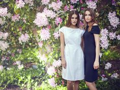 People Tree. Becca Broderie Dress & Rosalyn Dress. SS15. www.peopletree.co.uk via Look. Ethical Fashion Brands You Need to Know About