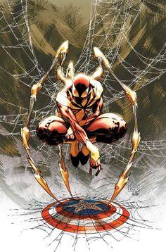 SpiderMan dressed by IronMan (Civil War)