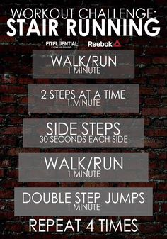 Workout Challenge: Hit the Stairs steps