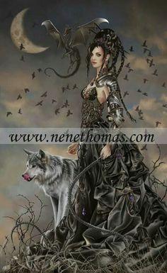 Bellamaestra, The Lady of Pain by Nene Thomas