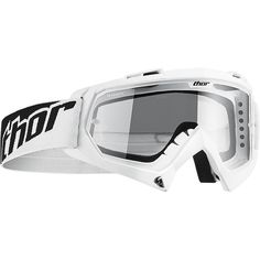 Goggles Moto Cross Enduro Baby Thor Enemy White