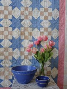Antique Quilts, Vintage Quilts, Quilts For Sale, Star Quilts, Antiques, Pink, Beautiful, Antiquities, Pink Hair