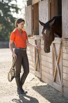 The Original FITS PerforMAX full seat in our rich new SABLE color looks awesome with our Tangerine Breeze shirt! Even if you can't make it to Rolex for a chance to win a course walk with a FITS rider, you can still get into the #RK3DE spirit with FITS. Enter to win a Breeze Tech shirt by FITS Riding in our Pin It To Win It contest. Pin today for your chance to win the Breeze Tech shirt in the color of your choice!