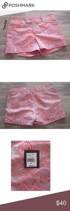 """NWT Nanette Lepore Shorts NWT Nanette Lepore Soiree Whimsical Embroidered Shorts The price tag says they are a size 4 but the tag inside of the shorts says the correct size which is a size 6. Waist: 16"""" Inseam: 4"""" All offers considered. Nanette Lepore Shorts"""