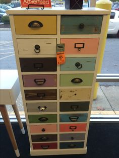 Multicolored, Multi Drawer Storage Chest At Hobby Lobby. This Would Be  Amazing For My