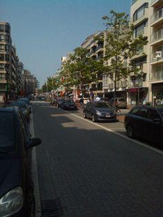 Lippenslaan in Knokke-Heist, West-Vlaanderen