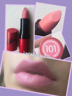 The Lipstick Database: Rimmel - Kate Moss Collection in 101