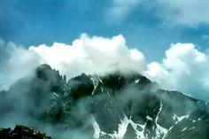 Crestone Needle and Crestone Peak in the Sangre de Cristo range, Colorado