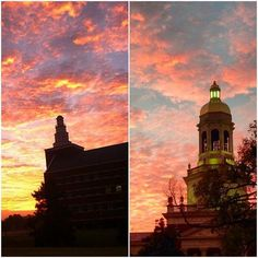 My my, #Baylor just looks gorgeous against any color sky. #SicEm