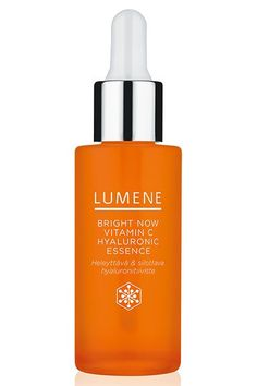 We especially love using this essence during the winter because it contains vitamin C to boost radiance when we're looking ultra-dull and hyaluronic acid to hydrate the skin when it's crazy-dry.Lumene Bright Now Vitamin C Hyaluronic Essence, $25.99, available at CVS. #refinery29 http://www.refinery29.com/new-drugstore-makeup-products#slide-19