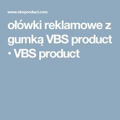 ołówki reklamowe z gumką VBS product • VBS product