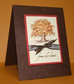 by Selene.... SU Lovely as a Tree for a sympathy card