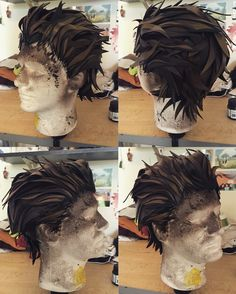 Finished my Rhys wig 2.0!
