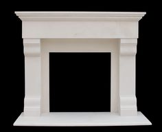 Sale | Marble Fireplace Mantels | Limestone Surrounds http://www.chicagobuildingproducts.com/marble-fireplace-mantel-surrounds.html