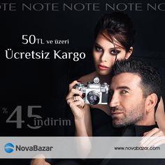 Güzel Bakan Her Kadın Doğru Makyajla Güzeldir. Note marka makyaj ürünlerinde 50 TL ve üzeri ücretsiz kargo http://www.novabazar.com/Note_br_3087