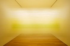 Each installation is composed of two tangible materials: Egyptian cotton thread and staples.  The additions of natural and artificial light, color and luminosity are factors that change and shift throughout the days and weeks of the exhibition making the work dynamic and ephemeral.
