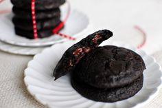 Double Dark Chocolate Merlot Cookies